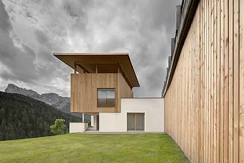 Rivestimenti e facciate carpenteria alpinestyle la val alto adige
